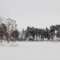 Vinter vid Norsbron